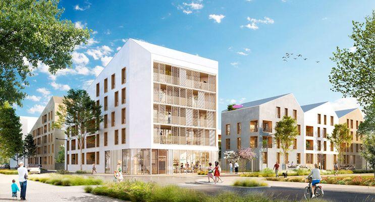 Résidence « Ekko » programme immobilier neuf en Loi Pinel à Carrières-sous-Poissy n°2