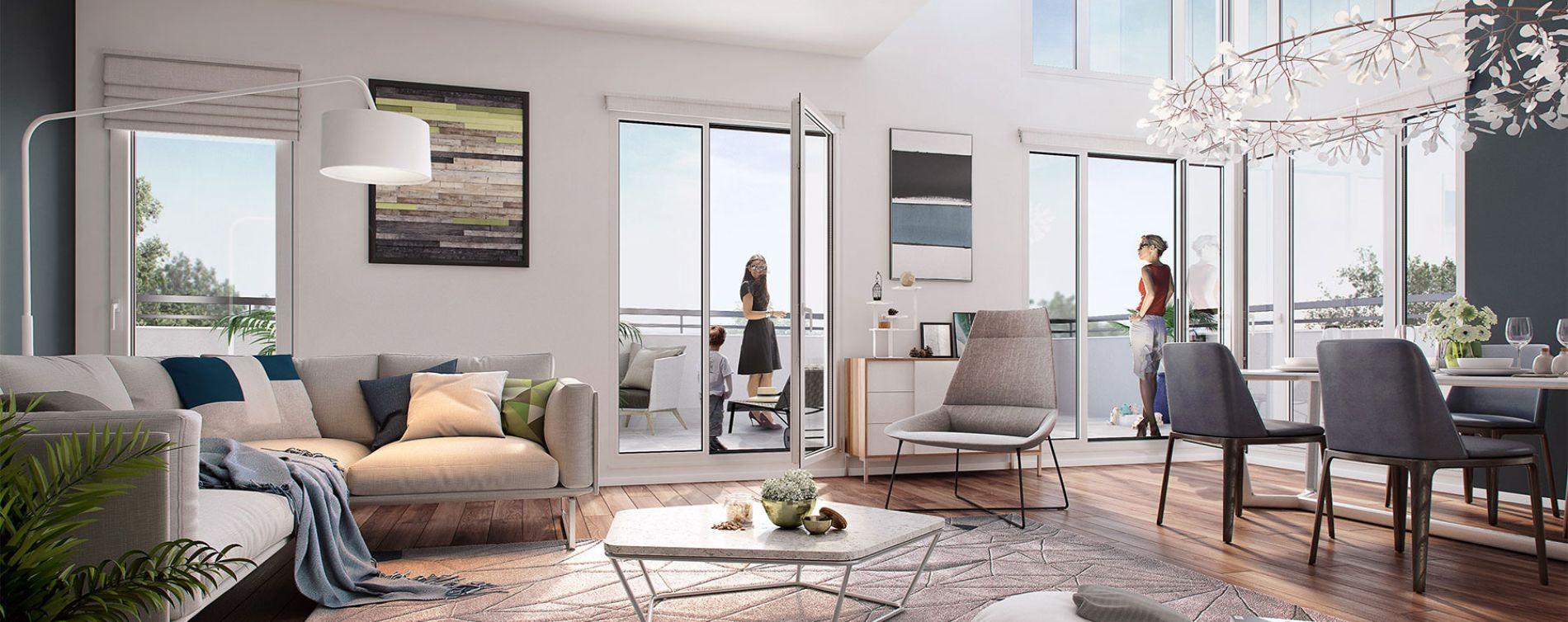 Chatou : programme immobilier neuve « Les terrasses de Renoir Pinel »
