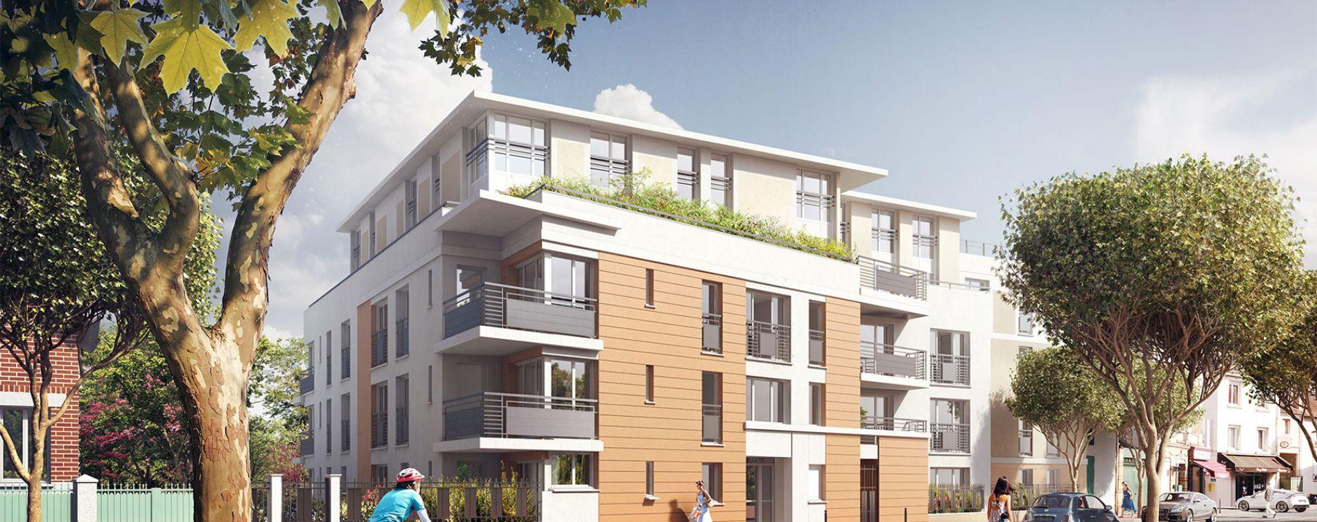 Chatou : programme immobilier neuve « Les terrasses de Renoir Pinel » (2)