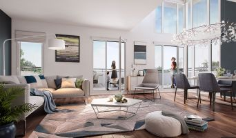 Résidence « Les Terrasses De Renoir » programme immobilier neuf en Nue Propriété à Chatou n°2