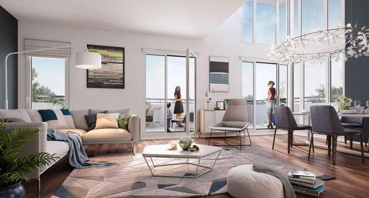 Photo n°2 du Résidence « Les Terrasses De Renoir » programme immobilier neuf en Nue Propriété à Chatou
