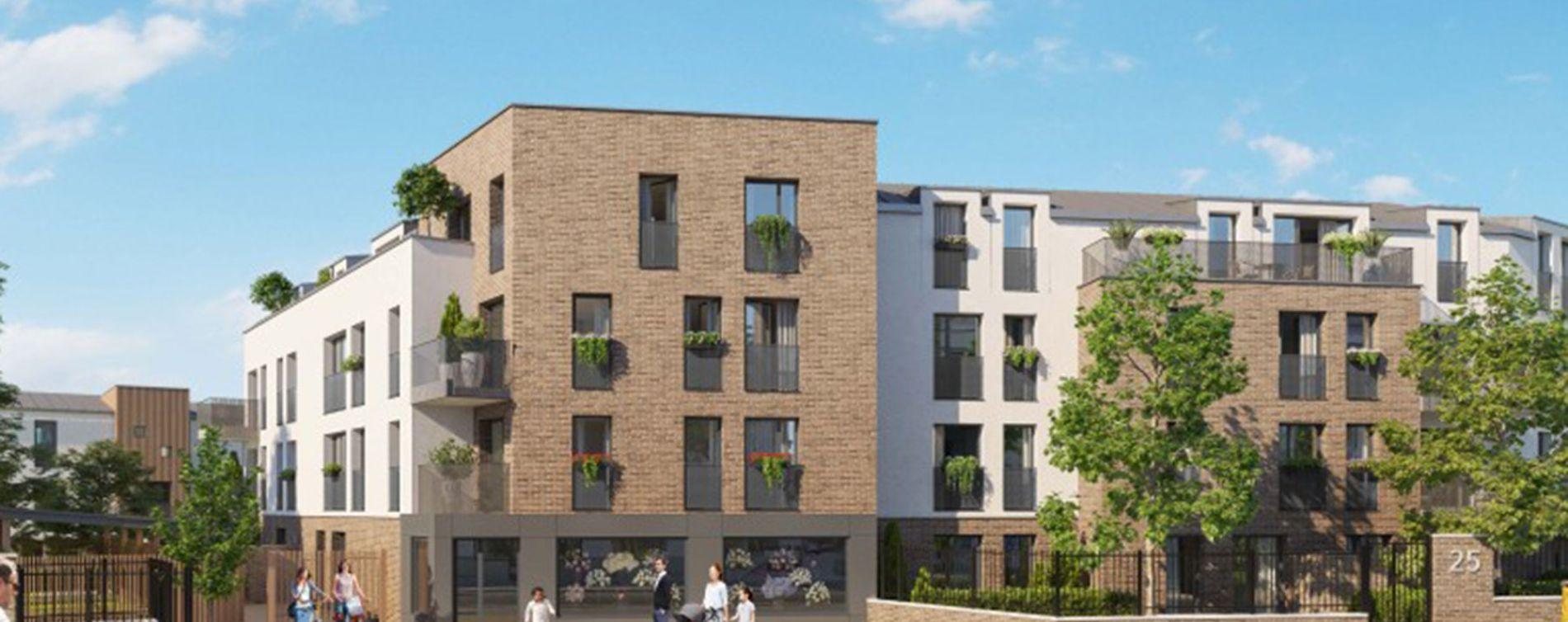 Conflans-Sainte-Honorine : programme immobilier neuve « Les Reflets d'Eos » en Loi Pinel
