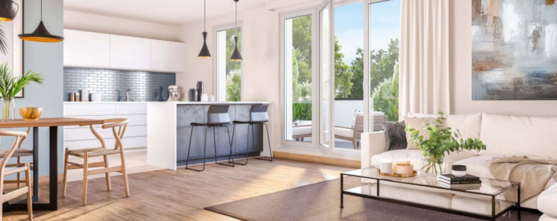 Conflans-Sainte-Honorine : programme immobilier neuve « Les Reflets d'Eos » en Loi Pinel (3)