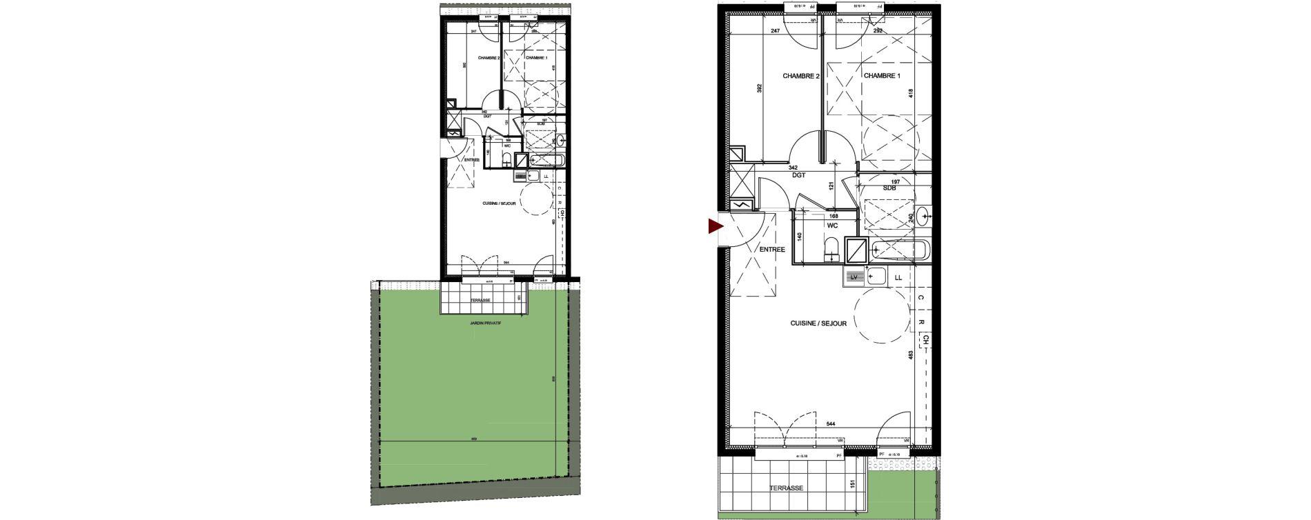 Appartement T3 de 60,84 m2 à Conflans-Sainte-Honorine Centre