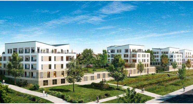 Photo du Résidence « Côté Parc » programme immobilier neuf en Loi Pinel à Ecquevilly