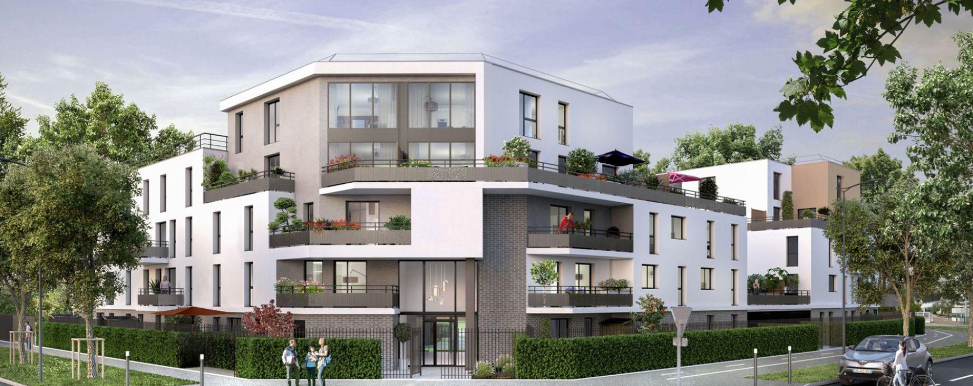 Élancourt : programme immobilier neuve « Les Jardins d'Amantine » en Loi Pinel