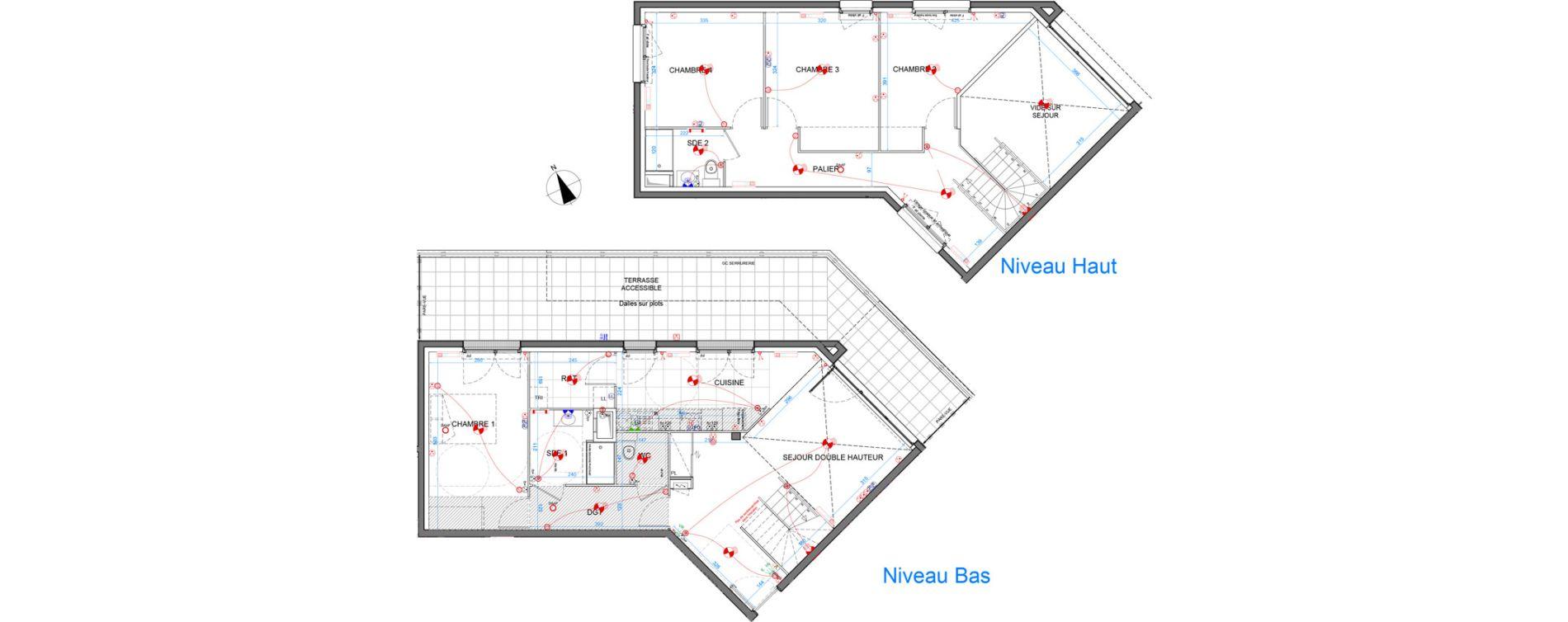 Appartement T5 de 112,50 m2 à Élancourt Clef de saint-pierre