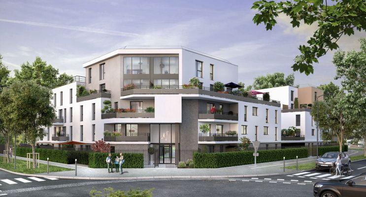 Photo du Résidence « Les Jardins d'Amantine » programme immobilier neuf en Loi Pinel à Élancourt