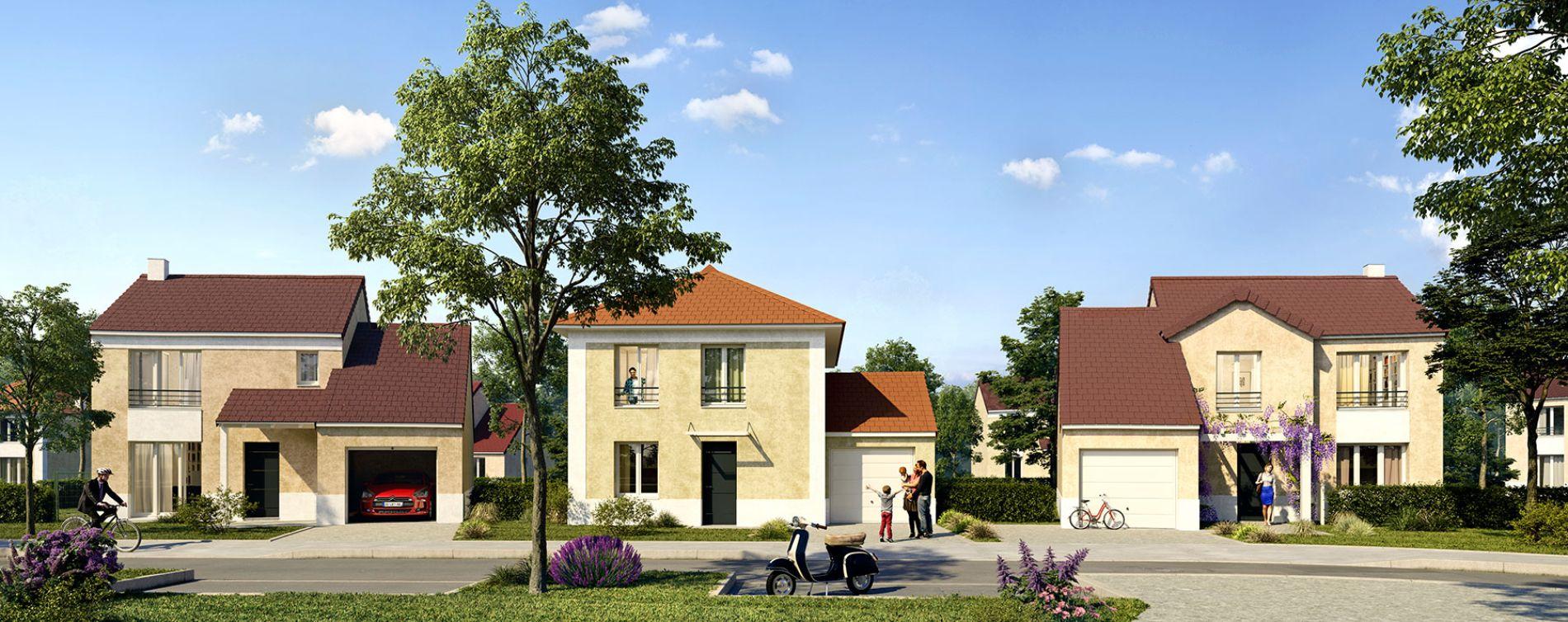 Gazeran : programme immobilier neuve « Scènes de vie » (2)