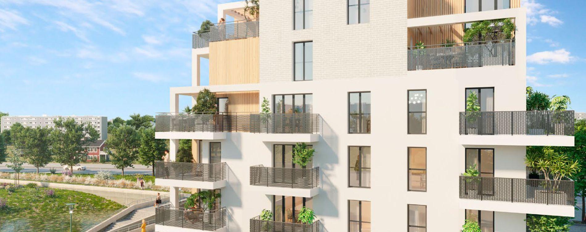 Guyancourt : programme immobilier neuve « Les Bords du Lac » en Loi Pinel (2)