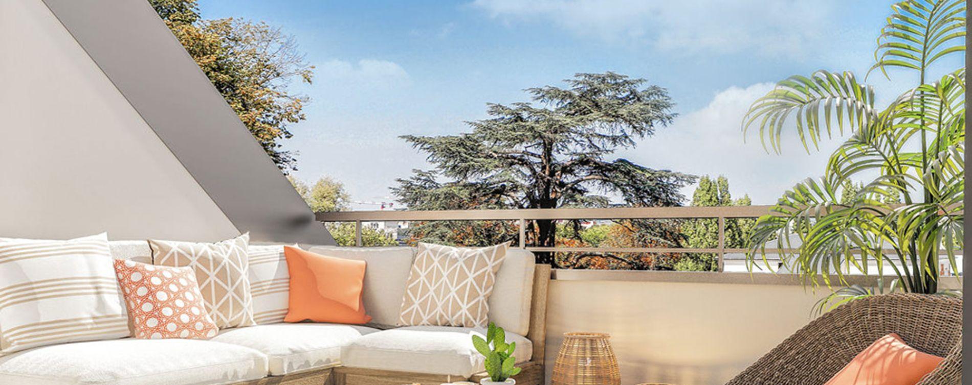 Guyancourt : programme immobilier neuve « Villa des Sources » en Loi Pinel