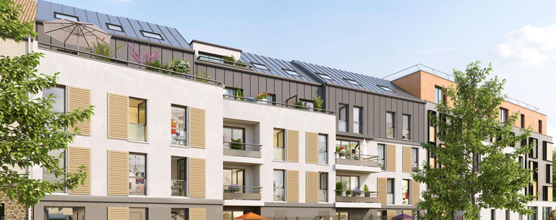 Guyancourt : programme immobilier neuve « Villa des Sources » en Loi Pinel (2)