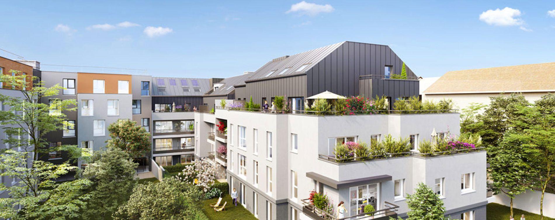Guyancourt : programme immobilier neuve « Villa des Sources » en Loi Pinel (3)