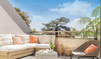 Guyancourt : programme immobilier neuf « Villa des Sources » en Loi Pinel