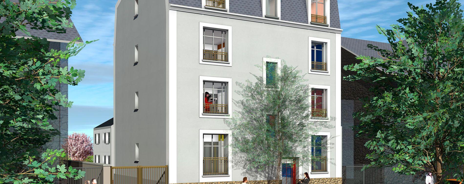 Résidence Central Avenue à Hardricourt