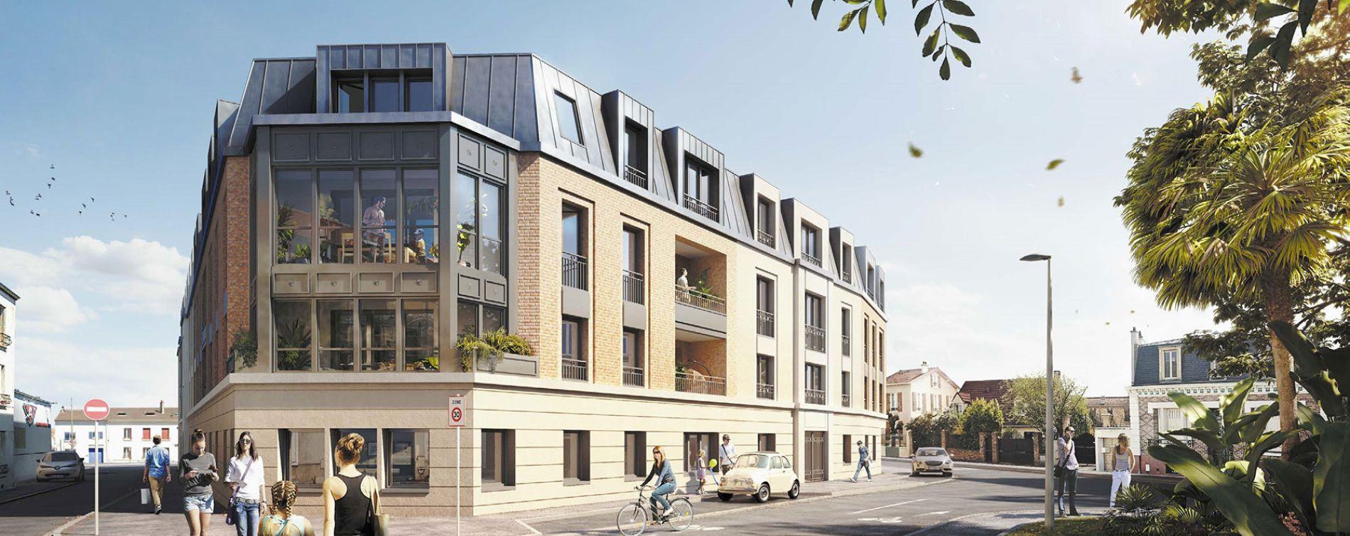 Houilles : programme immobilier neuve « Les Jardins Schoelcher »