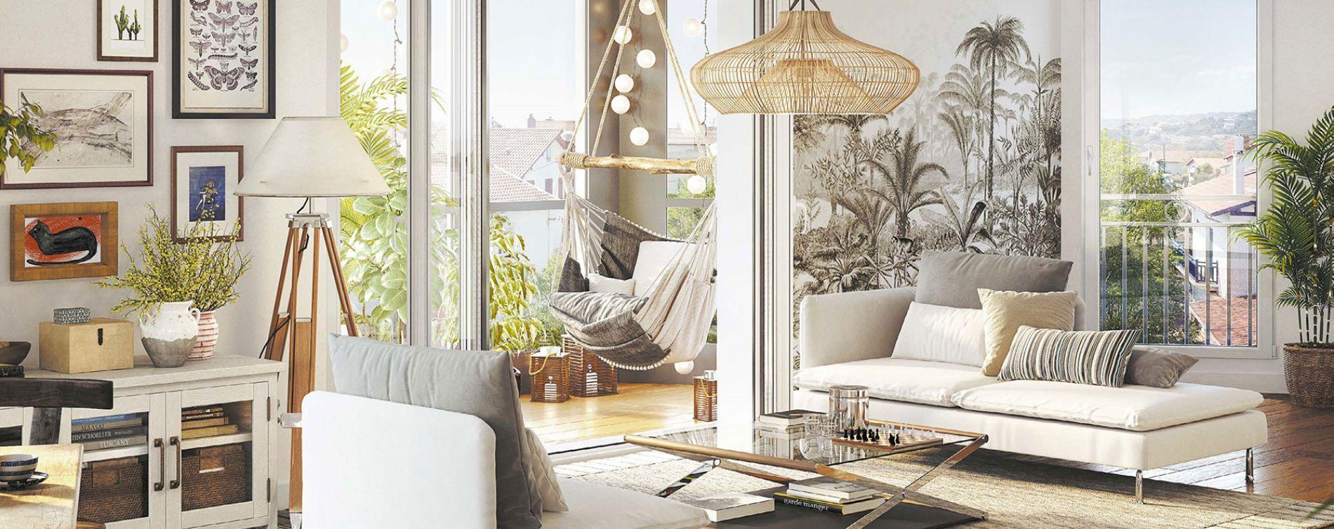 Houilles : programme immobilier neuve « Les Jardins Schoelcher » (3)