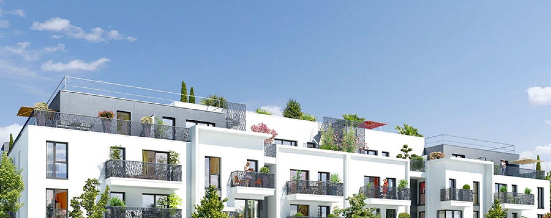 Houilles : programme immobilier neuve « Plein'R »