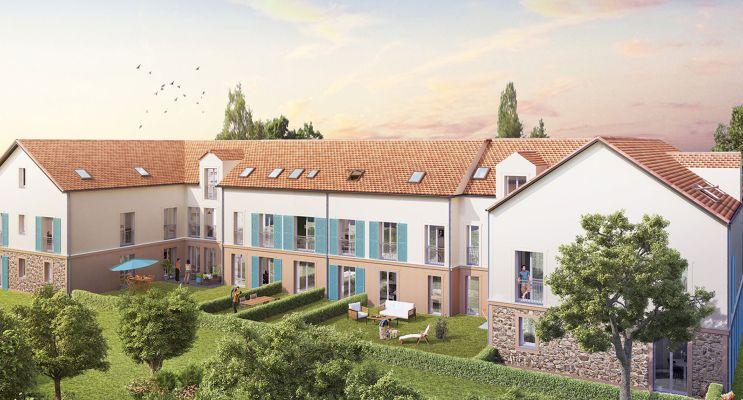 Photo du Résidence « Le Hameau du Roi » programme immobilier neuf en Loi Pinel à Le Mesnil-le-Roi