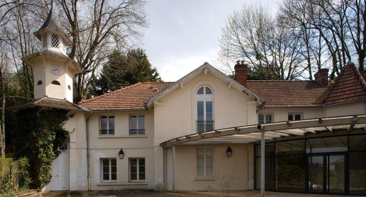 Le Pecq : programme immobilier neuf « Domaine Grandchamp » en Loi Pinel