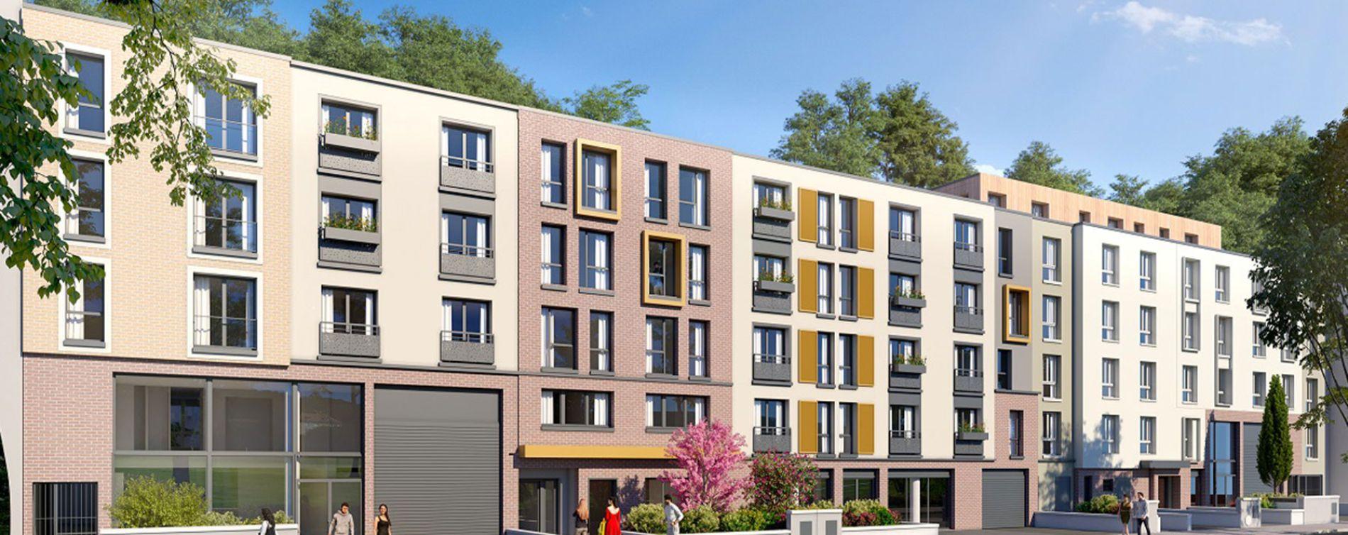 Le Port-Marly programme immobilier neuve « Evolution »