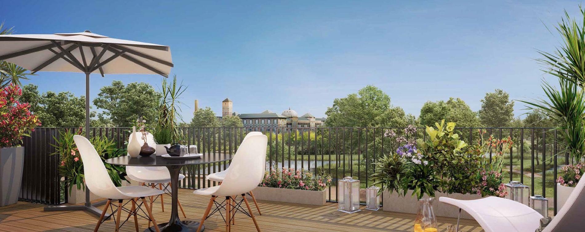 Le Vésinet : programme immobilier neuve « L'Accord Parfait »