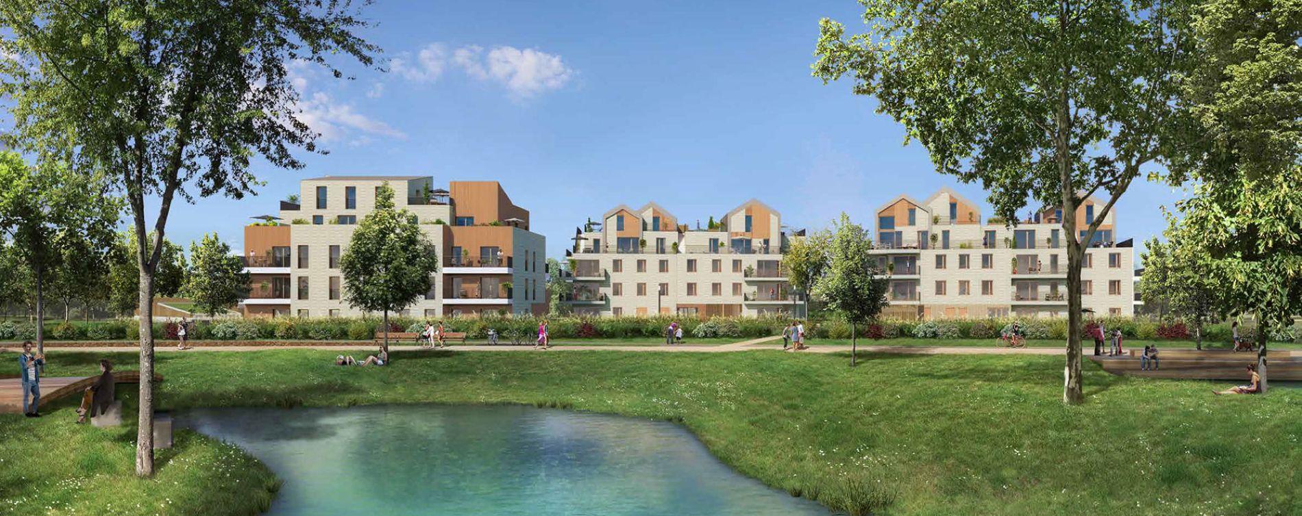 Le Vésinet : programme immobilier neuve « L'Accord Parfait » (2)