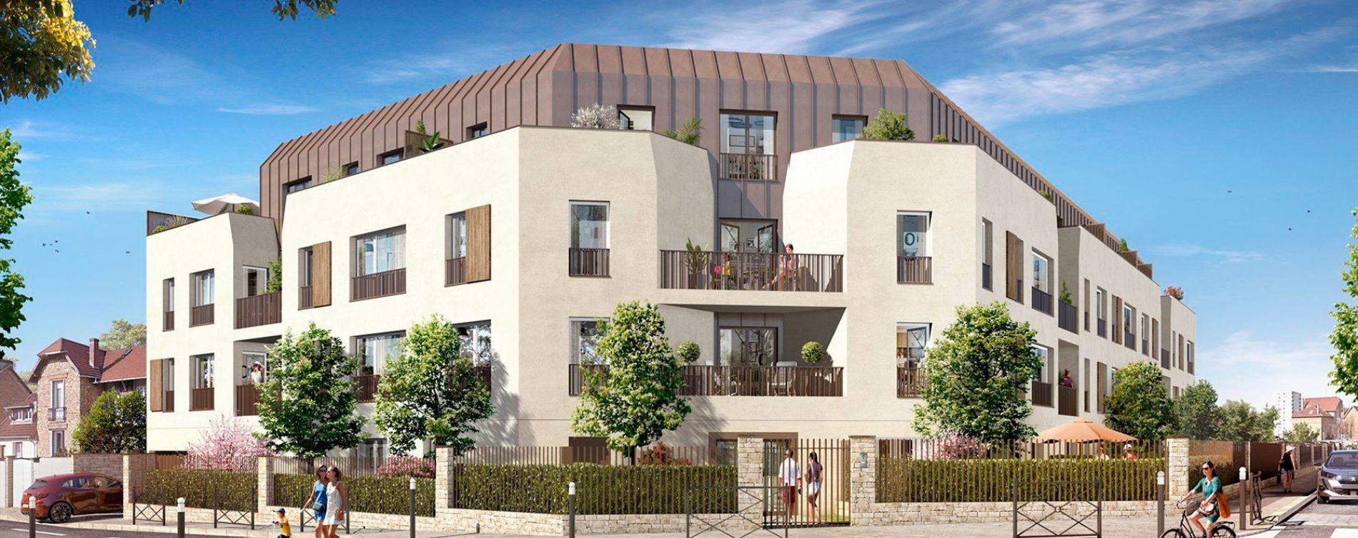 Les Mureaux : programme immobilier neuve « Cyméa »