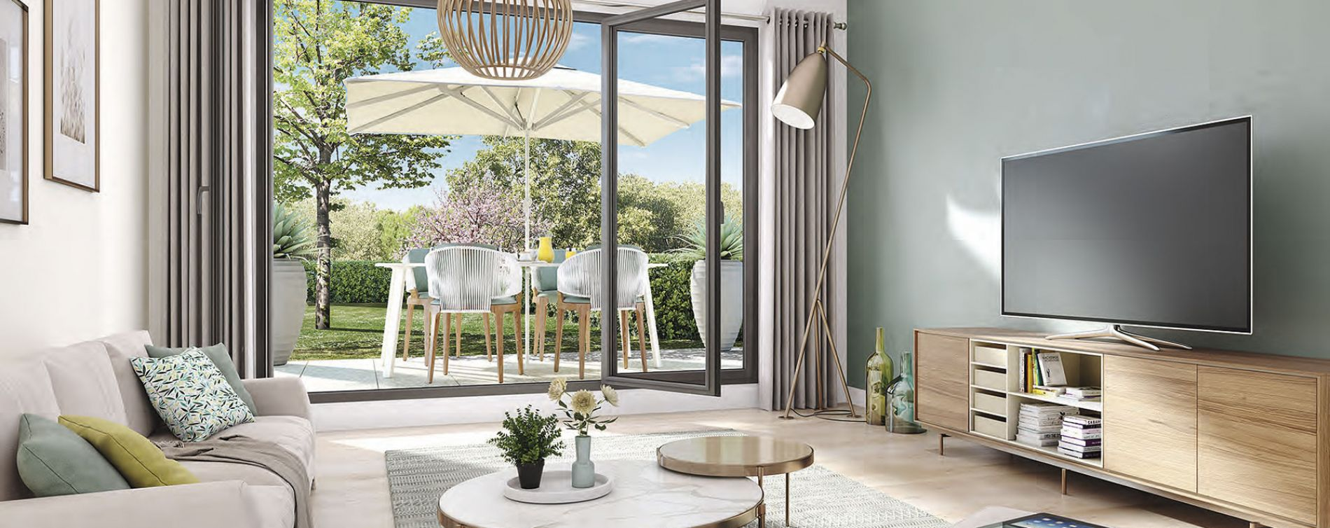 Les Mureaux : programme immobilier neuve « Cyméa » (3)