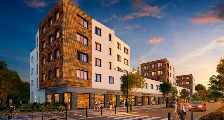 Photo du Résidence « Grand'Air » programme immobilier neuf en Loi Pinel à Les Mureaux