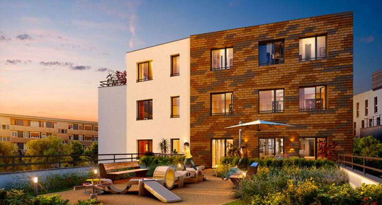 Résidence « Grand'Air » programme immobilier neuf en Loi Pinel à Les Mureaux n°3