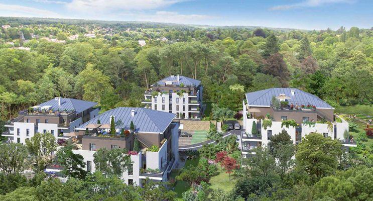 Photo n°1 du Résidence « Le Clos Des Vignes » programme immobilier neuf en Loi Pinel à L'Étang-la-Ville