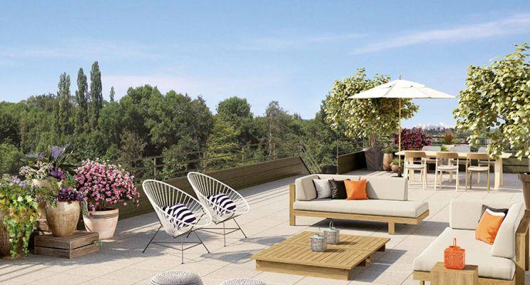 Photo n°3 du Résidence « Le Clos Des Vignes » programme immobilier neuf en Loi Pinel à L'Étang-la-Ville