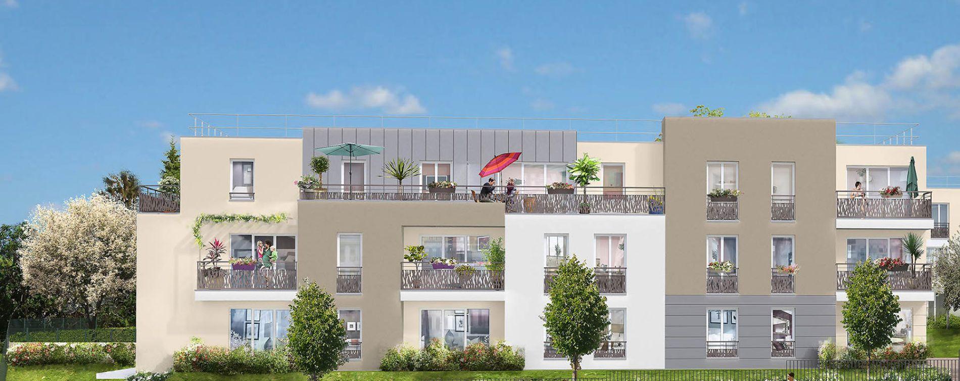Limay : programme immobilier neuve « Nuances »