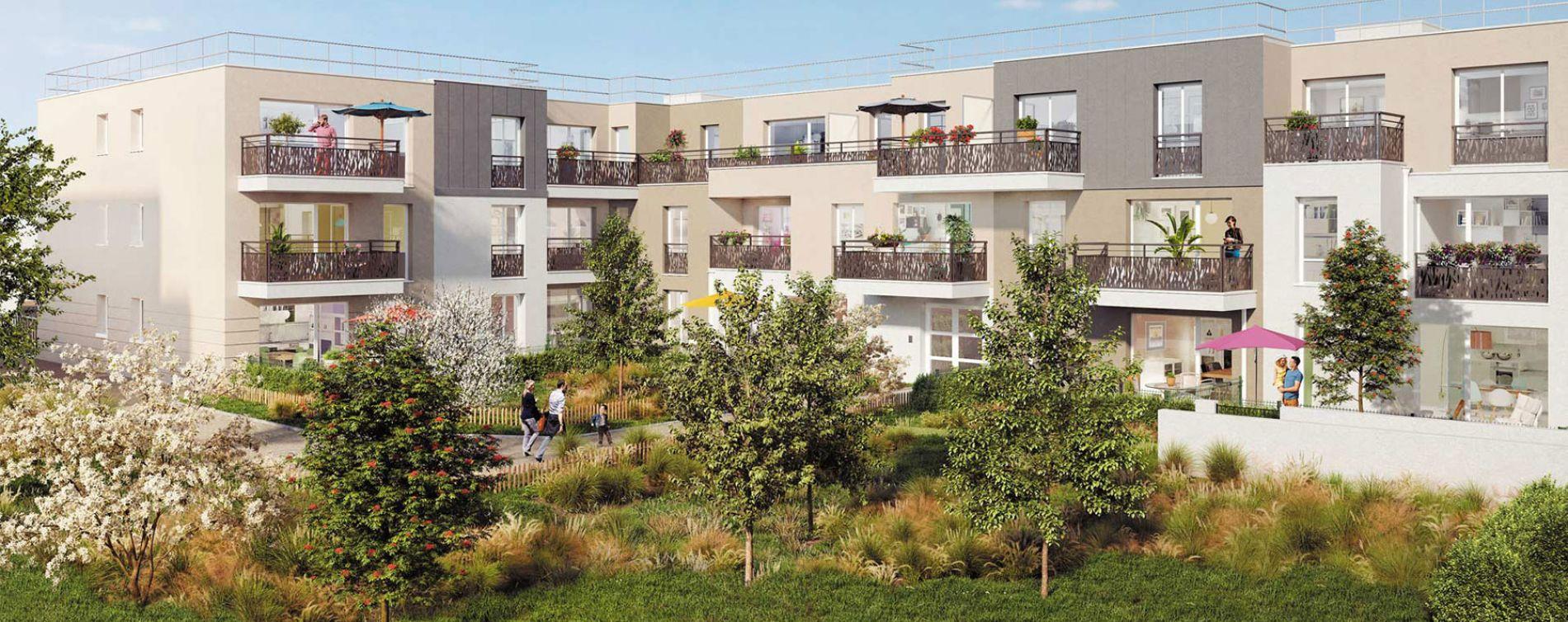 Limay : programme immobilier neuve « Nuances » (2)