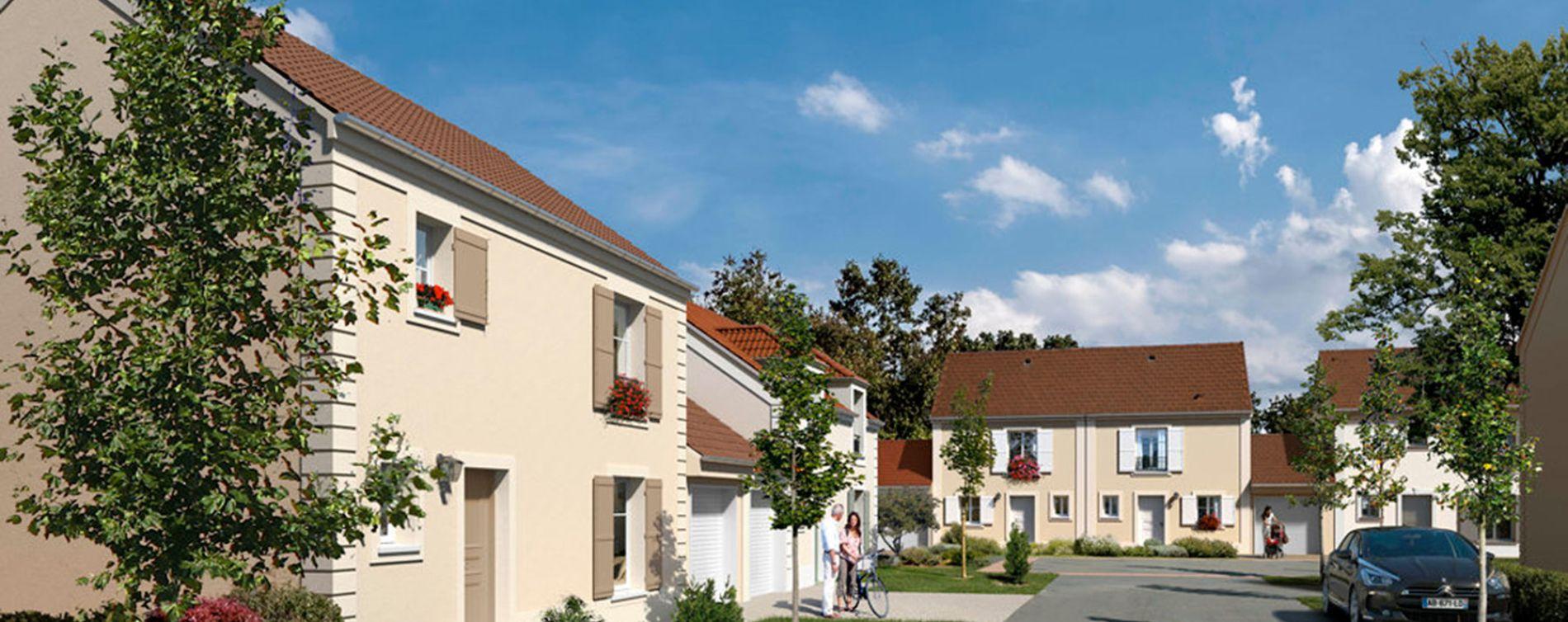 Magny-les-Hameaux : programme immobilier neuve « Cottages »