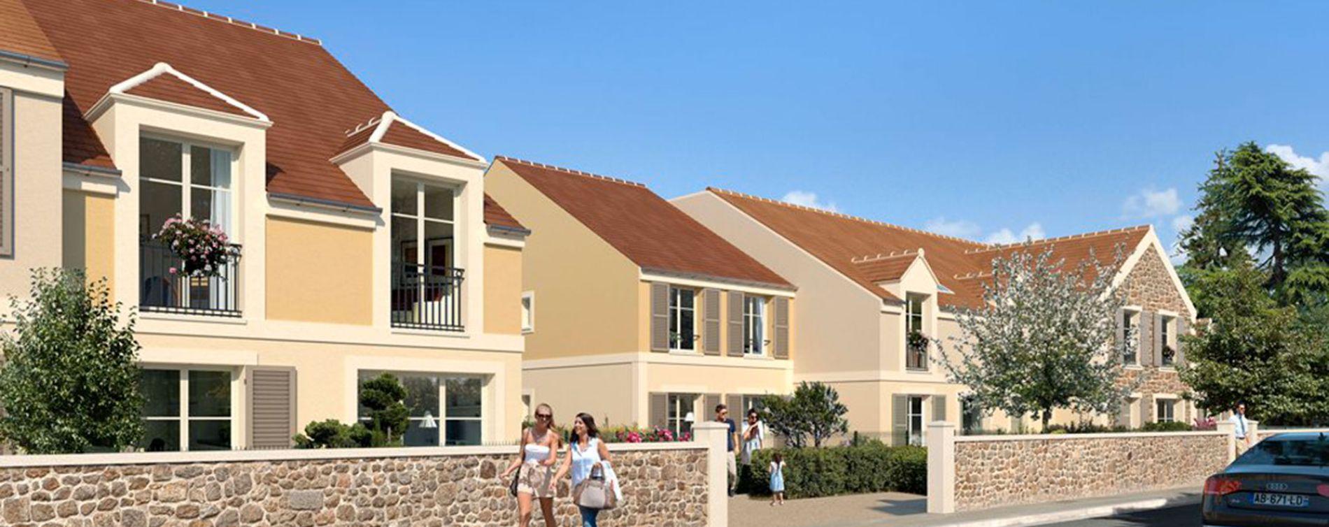 Magny-les-Hameaux : programme immobilier neuve « Cottages » (2)