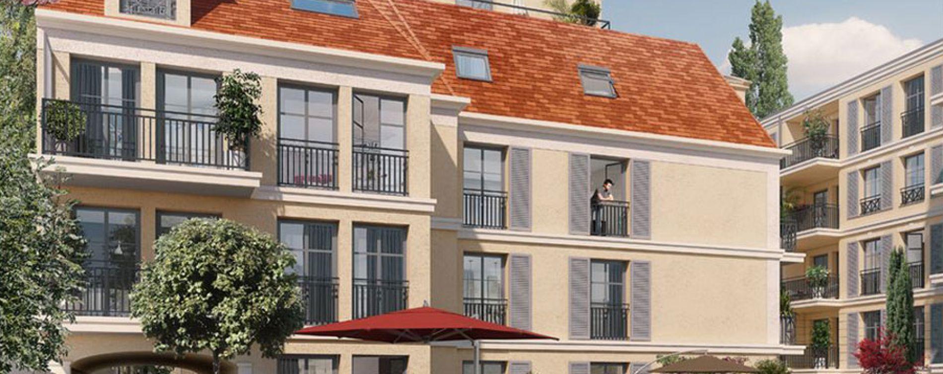 Maisons-Laffitte : programme immobilier neuve « Les Jardins d'Albine » en Loi Pinel