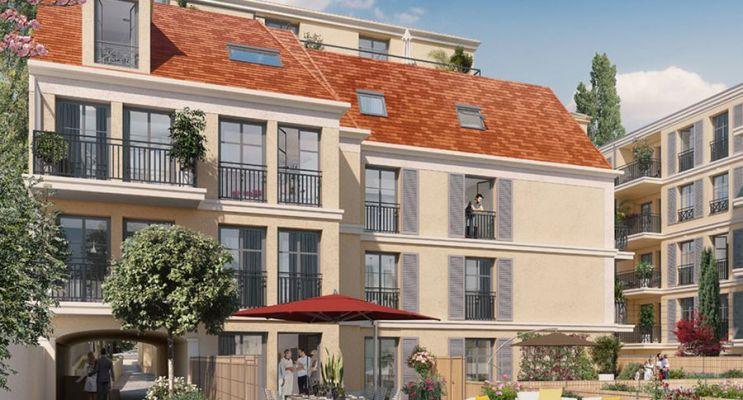 Photo du Résidence « Les Jardins d'Albine » programme immobilier neuf en Loi Pinel à Maisons-Laffitte