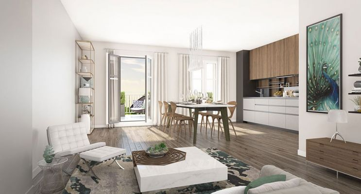 Résidence « Les Jardins D'Albine » programme immobilier neuf en Loi Pinel à Maisons-Laffitte n°4