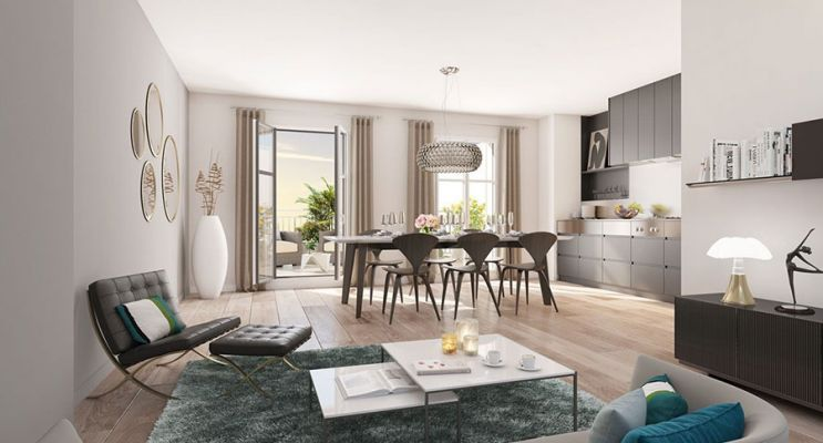 Résidence « Les Jardins D'Albine » programme immobilier neuf en Loi Pinel à Maisons-Laffitte n°5