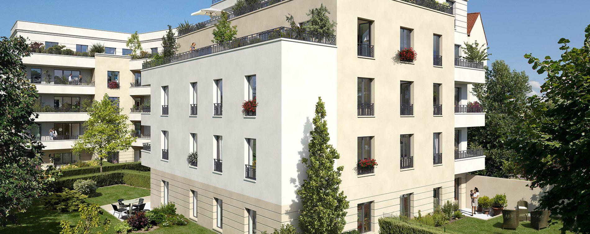 Maisons-Laffitte : programme immobilier neuve « Résidence du Bois Bonnet » en Loi Pinel (2)