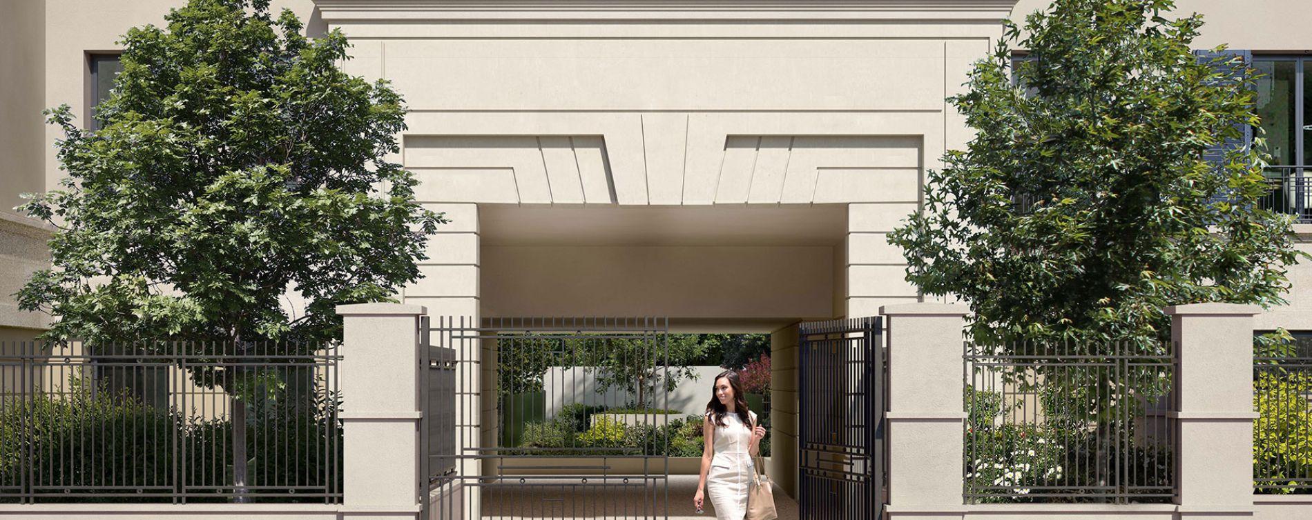 Maisons-Laffitte : programme immobilier neuve « Résidence du Bois Bonnet » en Loi Pinel (3)