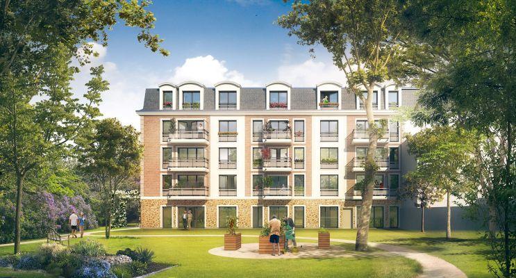 Mantes-la-Jolie : programme immobilier neuf « Les Senioriales de Mantes-la-Jolie » en Loi Pinel