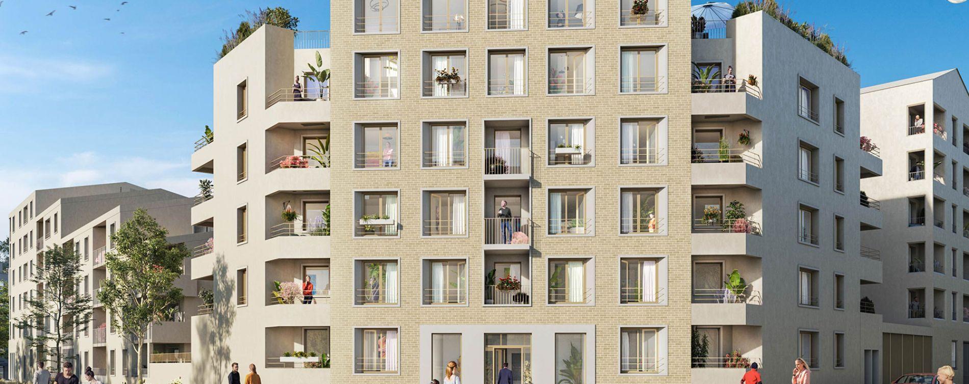 Mantes-la-Ville : programme immobilier neuve « Contemplation »
