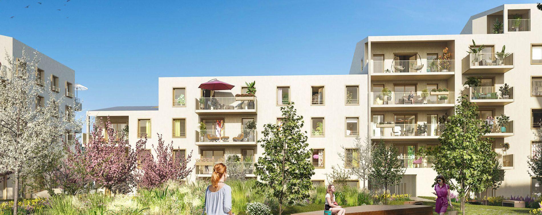 Mantes-la-Ville : programme immobilier neuve « Contemplation » (2)