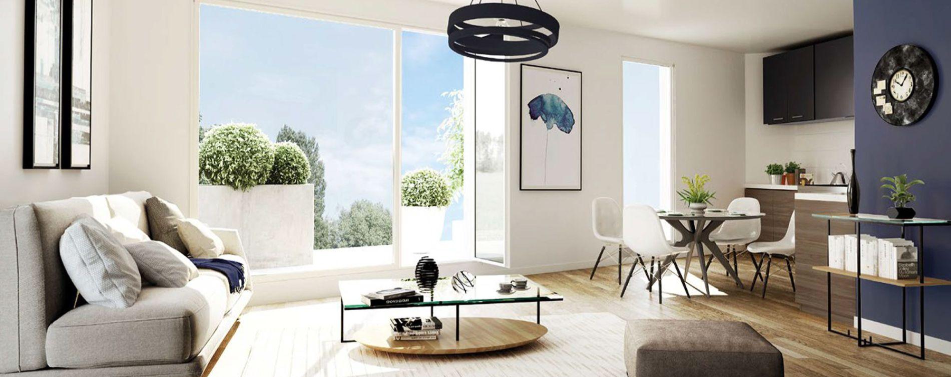 Mantes-la-Ville : programme immobilier neuve « Contemplation » (3)