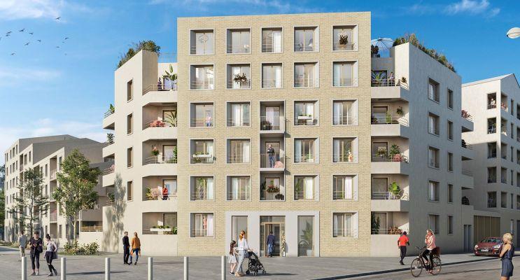 Mantes-la-Ville : programme immobilier neuf « Contemplation » en Loi Pinel