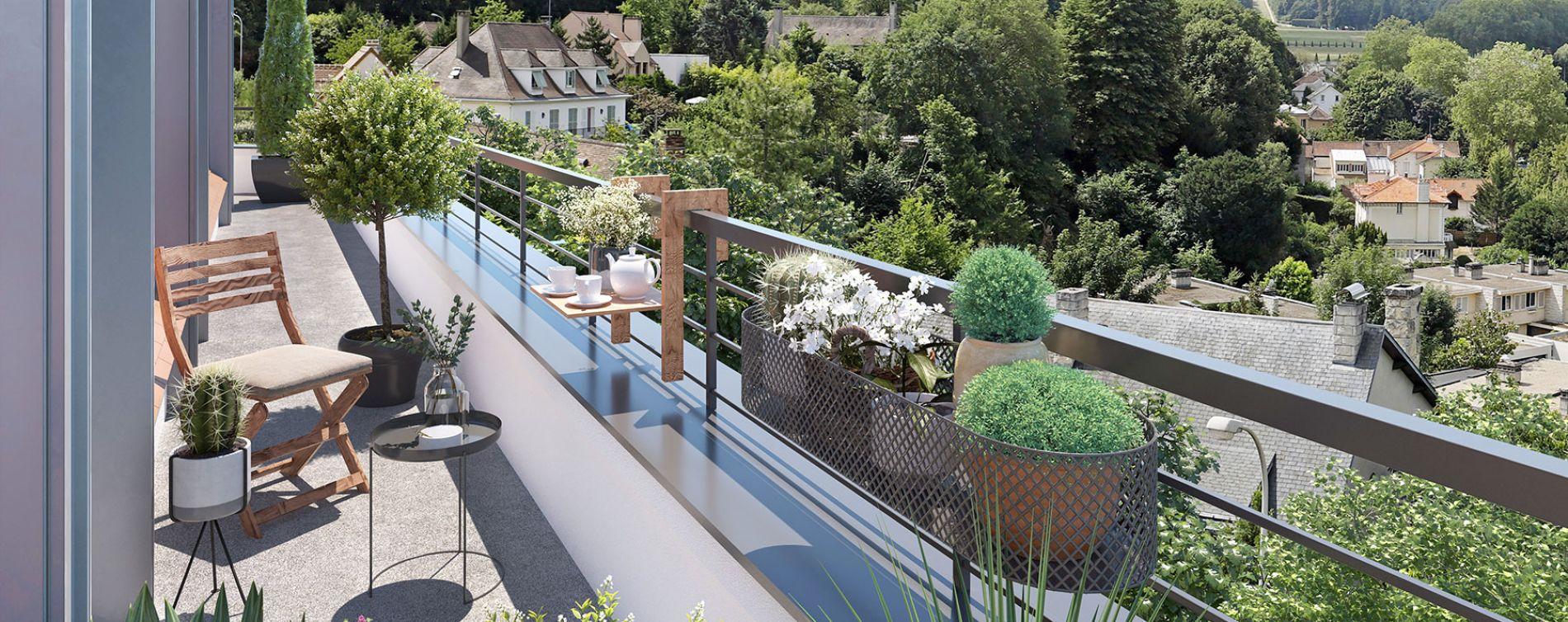 Marly-le-Roi : programme immobilier neuve « Horizon Marly » en Loi Pinel