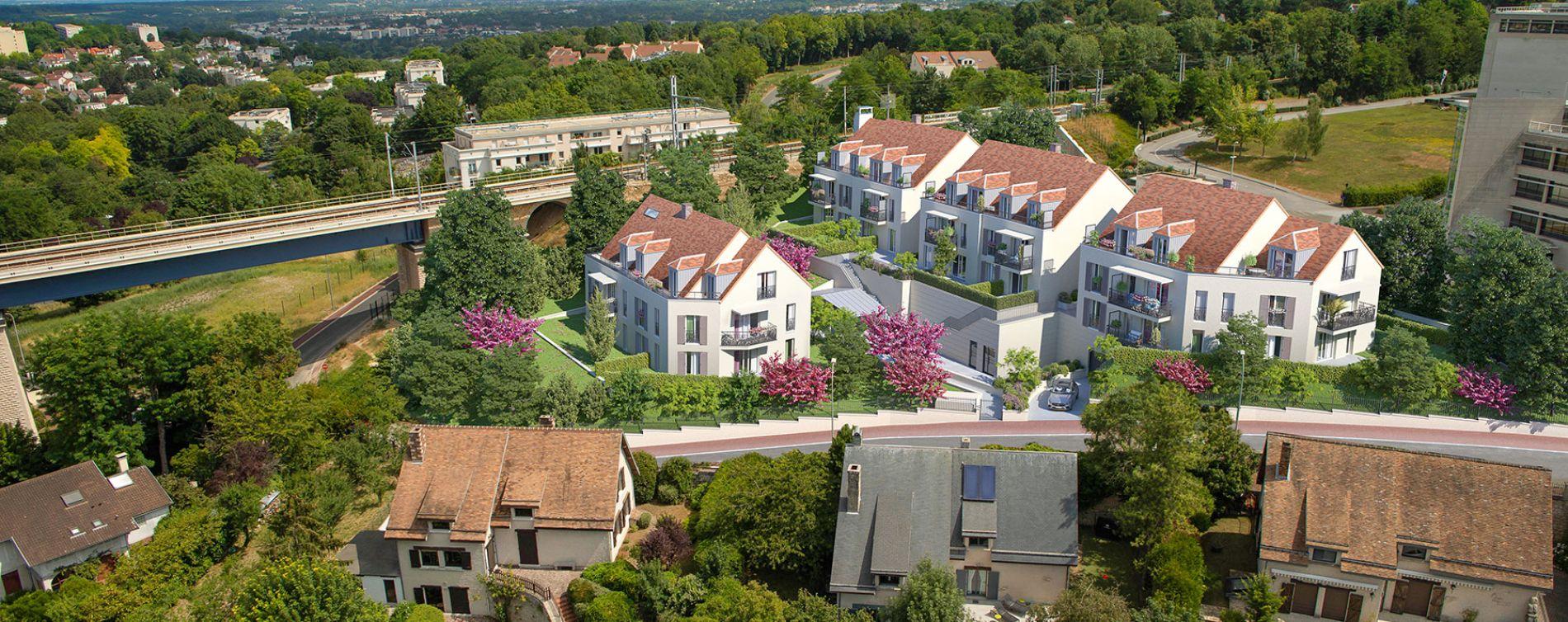 Marly-le-Roi : programme immobilier neuve « Horizon Marly » en Loi Pinel (2)